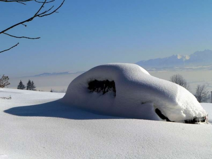 В Москве на следующей неделе может быть снег. Готовимся (30 фото)