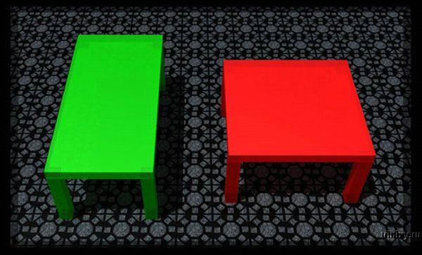 Интересная иллюзия (2 фото)
