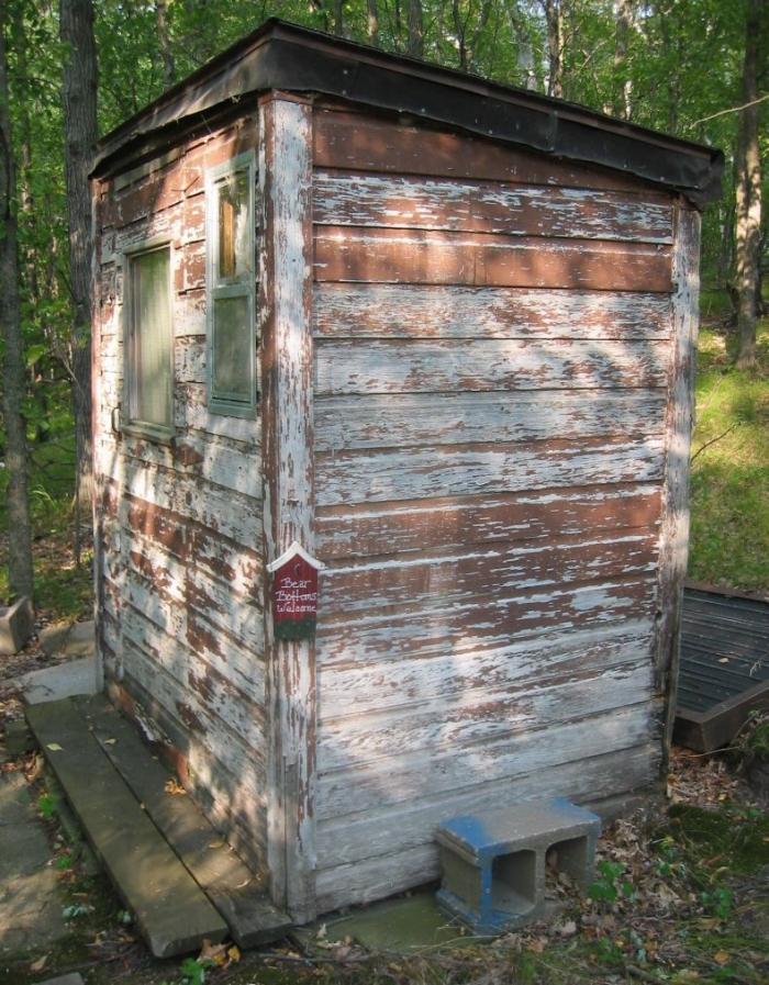 Лучший деревянный туалет в мире (6 фото)