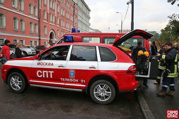 Автомобиль московских спасателей (8 фото)