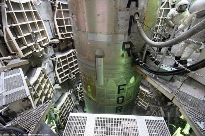 Шахта запуска ядерных ракет в Аризоне (15 фото)