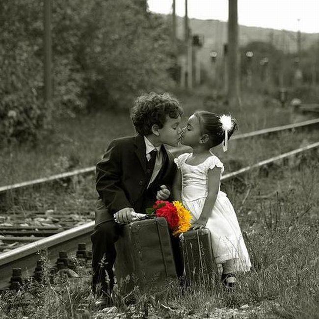 Прикольные картинки детская любовь, мужчине