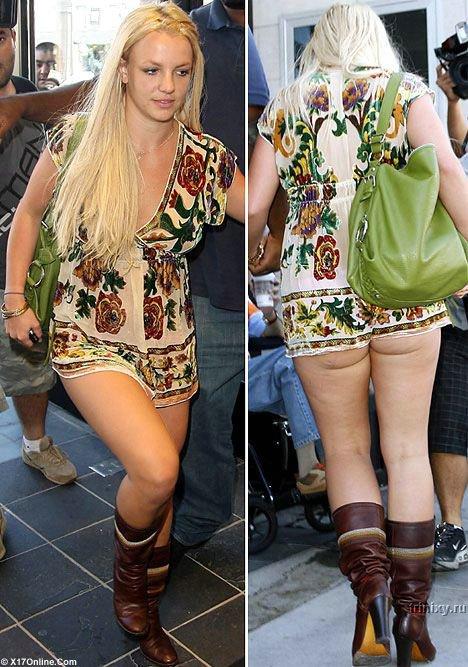 Britney Spears bez majtek