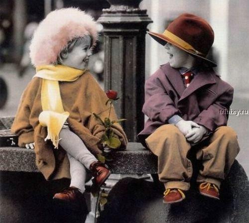 Дети и любовь 59 фото