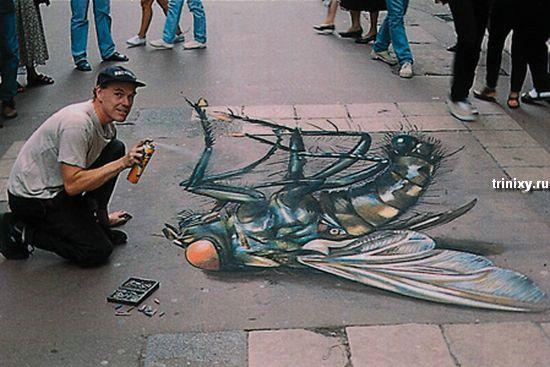 Стрит арт от Курта Венера (13 фото)