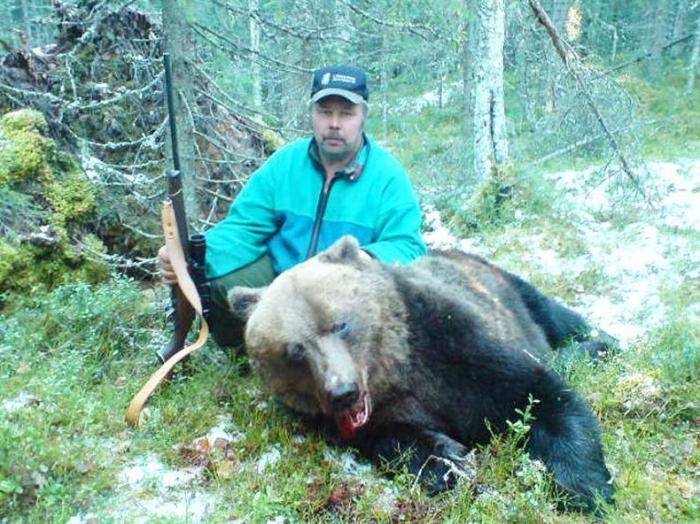 Встреча с медведем (5 фото)