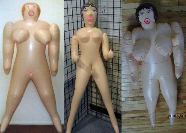Сексуальный маньяк и резиновые куклы