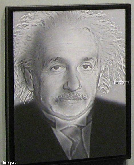 Иллюзии с Эйнштейном (13 фото)