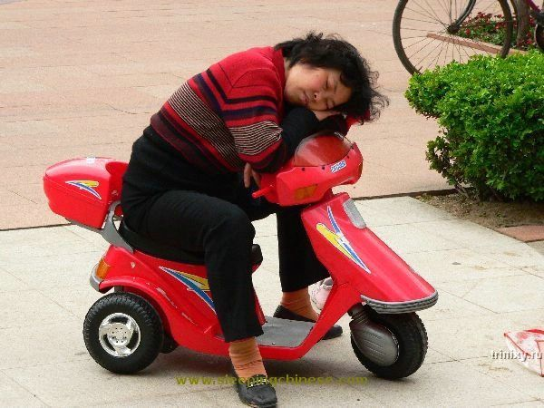 Спящие китайцы (62 фото)