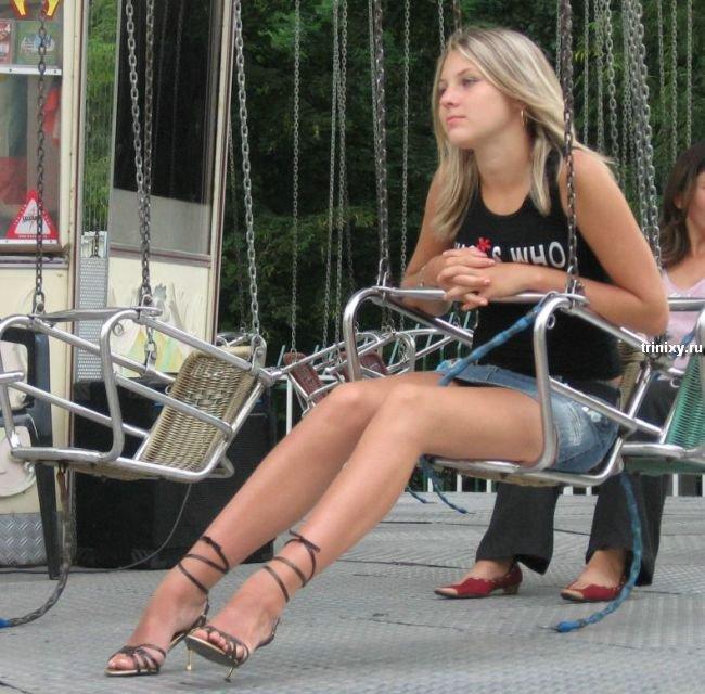 Стройные ножки на улице фото — img 2