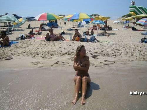 Девушка. Отпуск. Алкоголь. Фотоаппарат (18 фото) НЮ