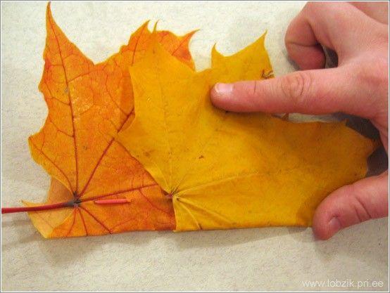 Корона из листьев (16 фото)