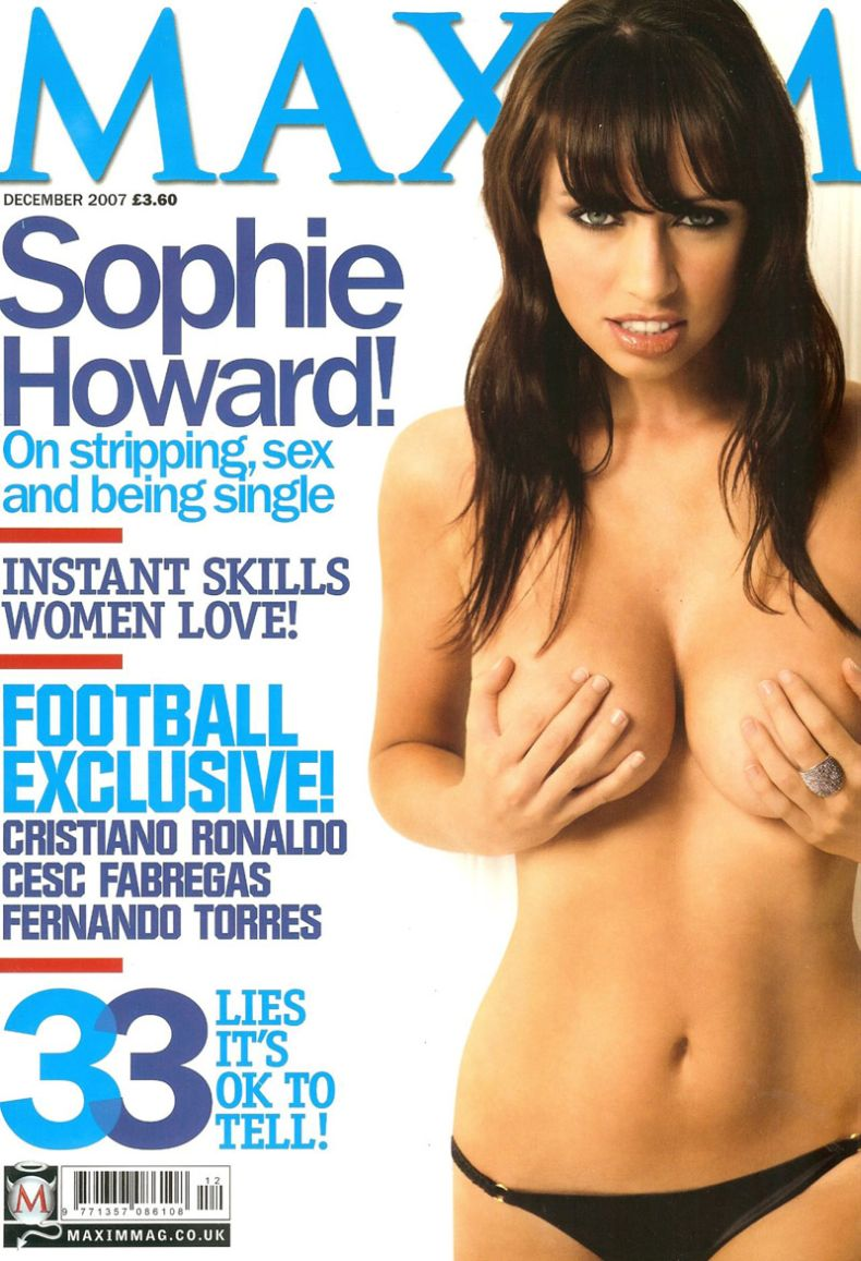 Sophie Howard в Maxim (9 Фото)