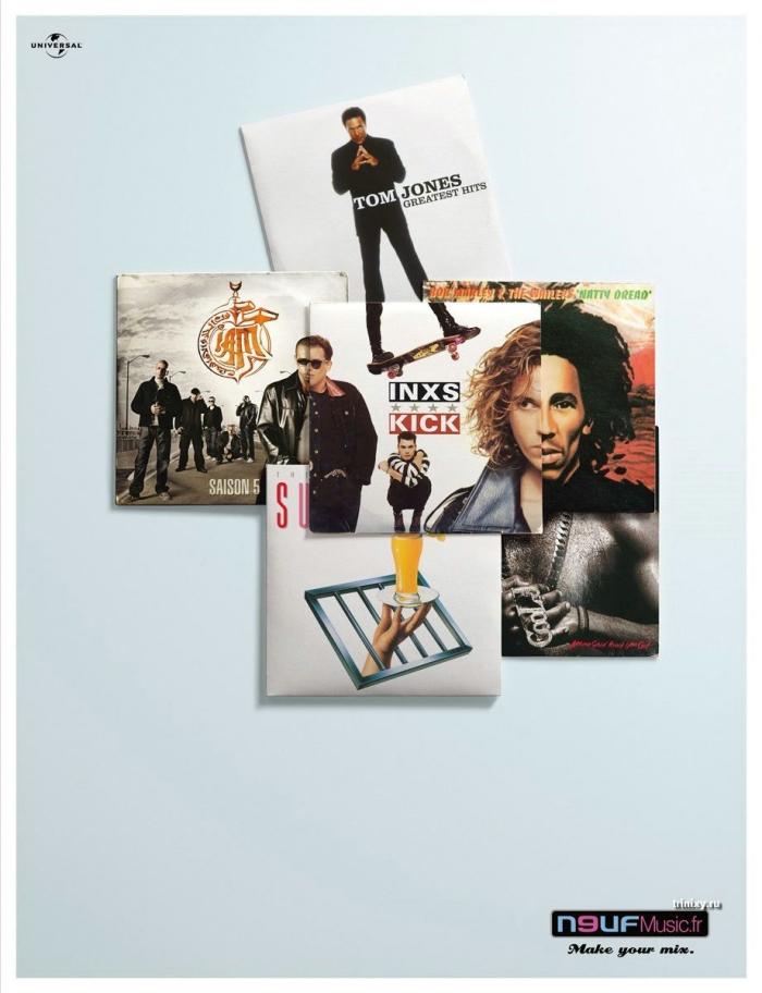 Классные рекламные постеры (35 фото)