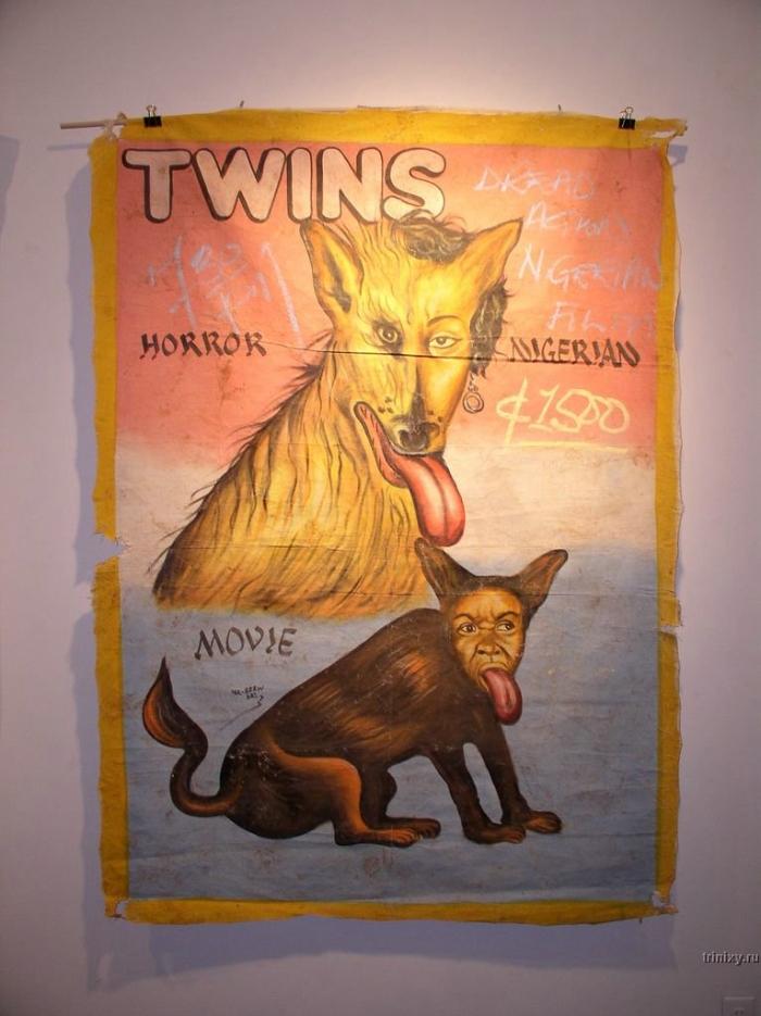 Плакаты к фильмам в Гане (24 фото)