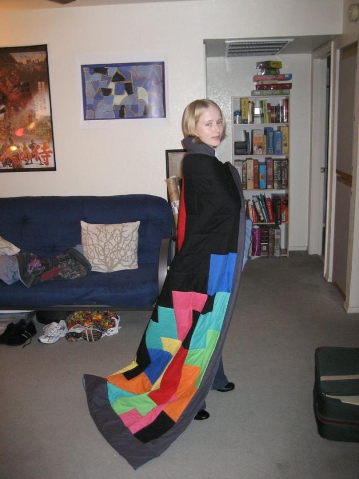 Классно ) Одеяло в стиле Тетрис (6 фото)