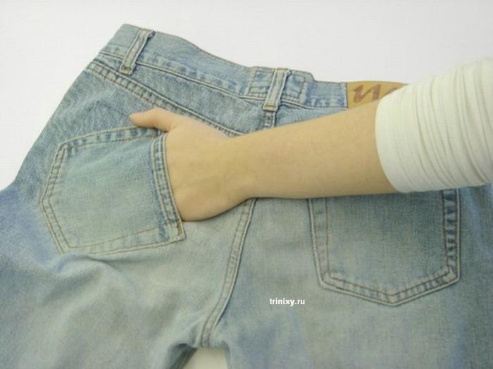 Дизайнерские джинсы для влюбленных (3 фото)