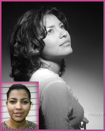 До и после макияжа. На этот раз без Фотошопа (9 фото)