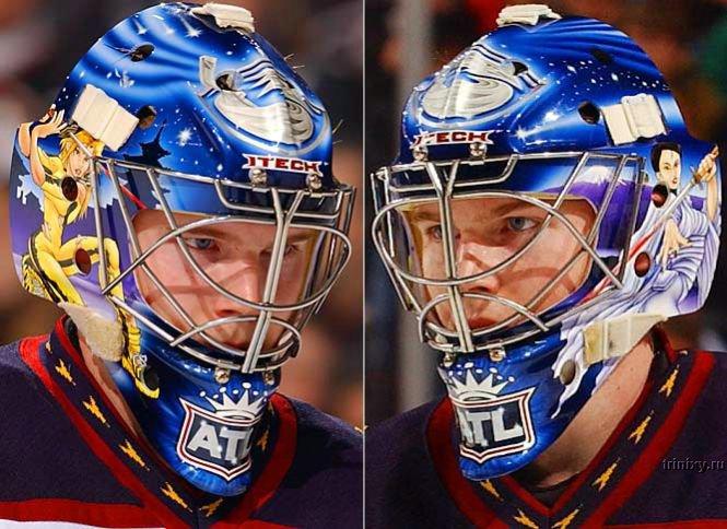 Маски вратарей НХЛ. Классно и стильно )) (39 фото)