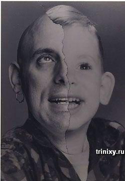 Две половинки одного лица (40 фото)