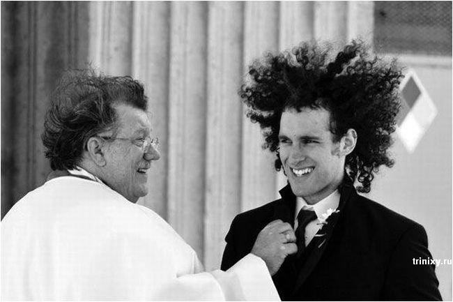 Забавные свадебные фотографии (21 фото)