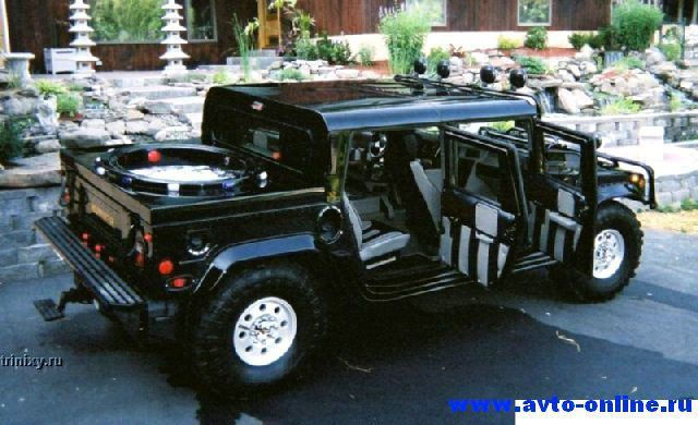 Эксклюзивный Hummer H1 (8 фото)