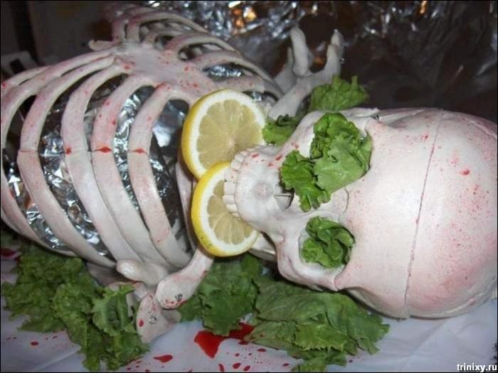 Готичная еда (14 фото)