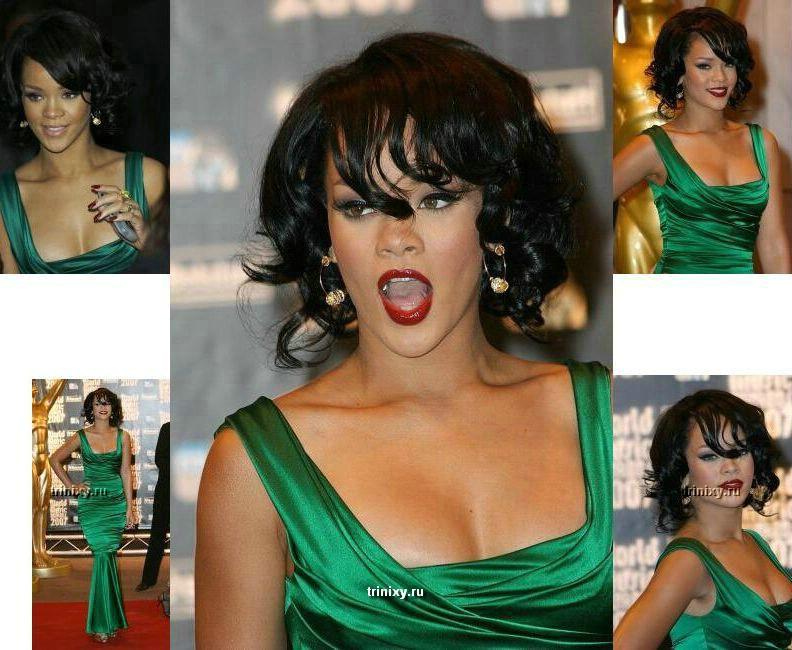 Настоящая Rihanna (2 фото)