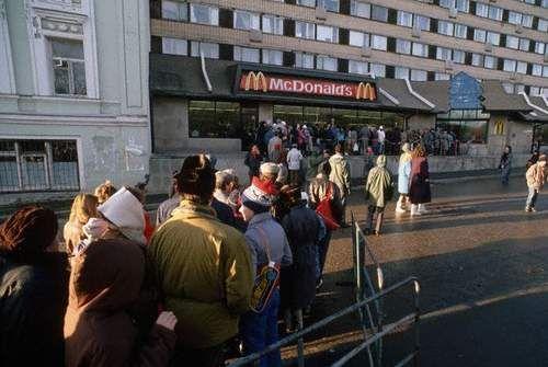 Самый первый McDonalds в Москве (6 фото)