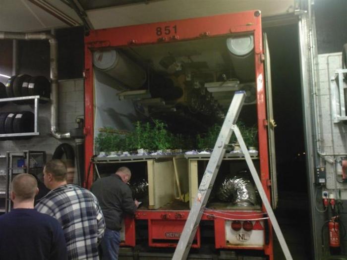 Нарко-грузовик (17 фото)