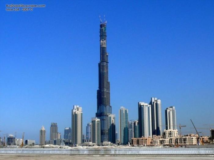 """Самый высокий небоскреб в мире - """"Дубайская башня"""" (21 фото)"""