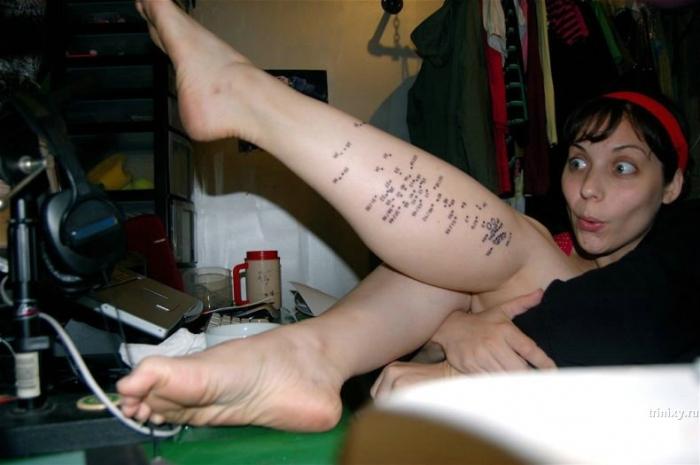Необычная татуировка (12 фото)