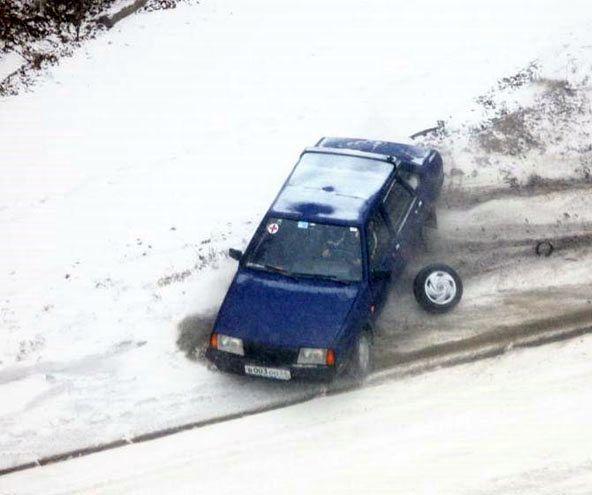 Убить автомобиль за доли секунды (9 фото)