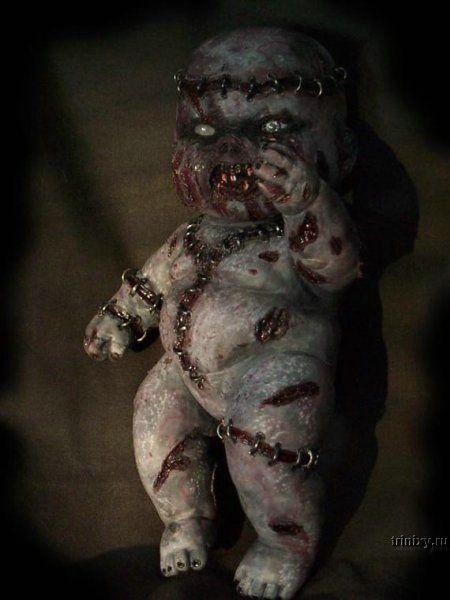Жесть! Чудовищные куклы (22 фото)