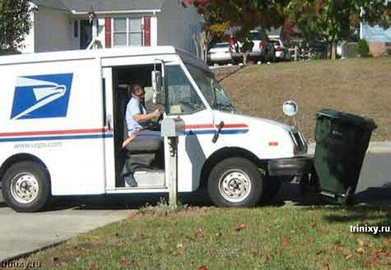 Самый ленивый почтальон в мире