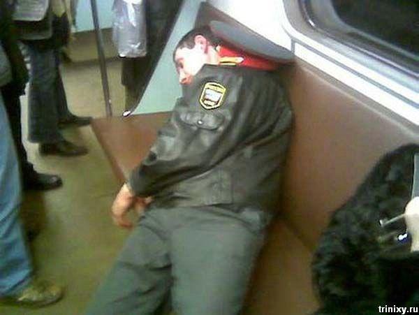 Лица российского метро (54 фото)
