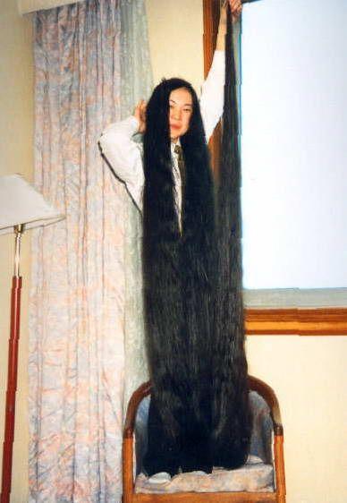 Длинные волосы (9 Фото)