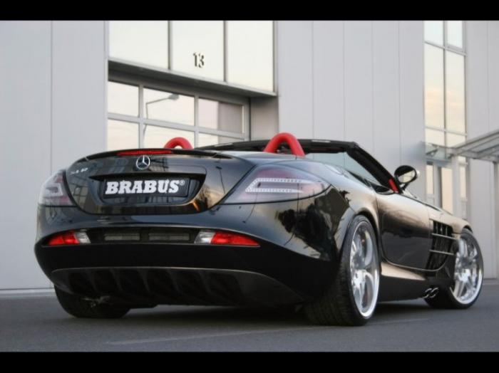 Mercedes SLR McLaren Brabus. Зверь-машина (19 фото)