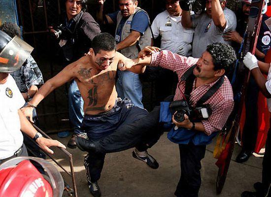 Mara Salvatrucha - самая жестокая южно-американская банда (34 фото)