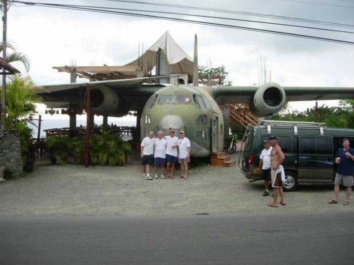 Ресторан в самолете (8 фото)