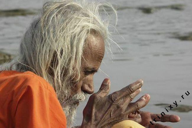 Баба - человек с большой силой духа (9 фото)