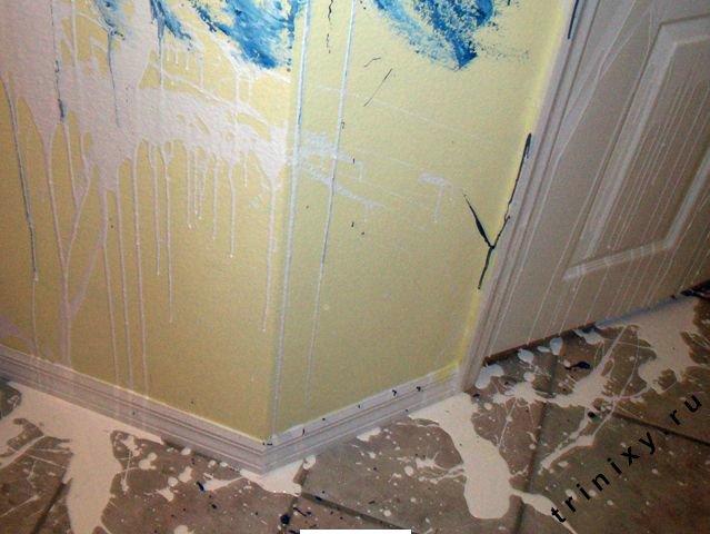 Аккуратнее подбирайте рабочих для ремонта квартиры (12 фото)