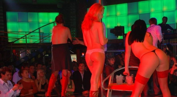 Striptease in nightclubs of Donetsk - 05.