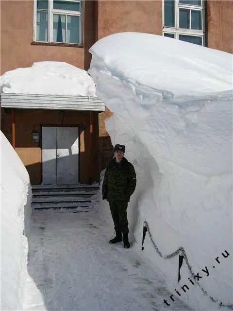 Уникальные снегоходы (55 фото + текст)