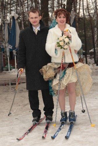 Необычные свадебные наряды (21 фото)