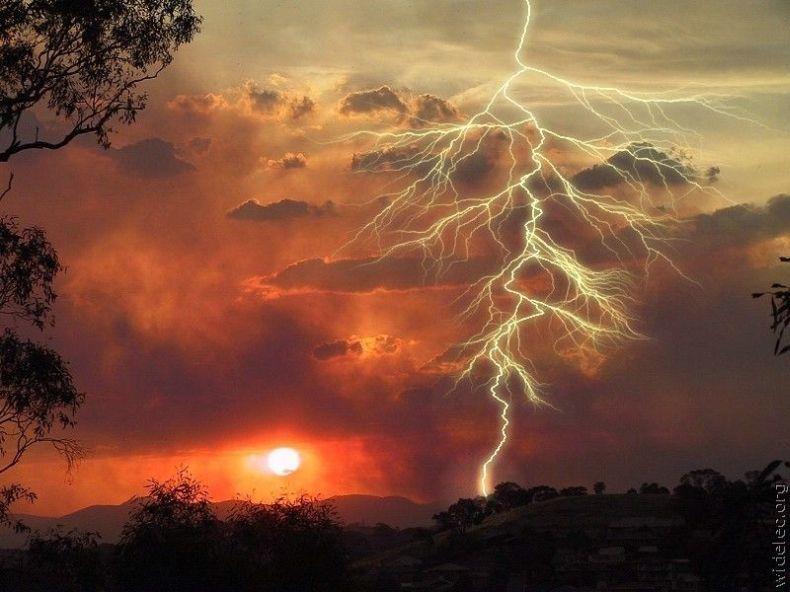 Красивые молнии (63 Фото)