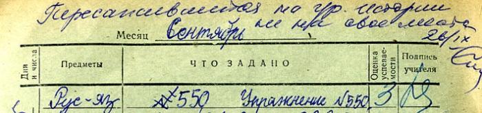 Дневник двоечника времен СССР (60 сканов)
