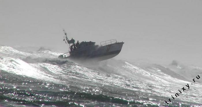 Корабли против больших волн (21 фото + 3 видео)