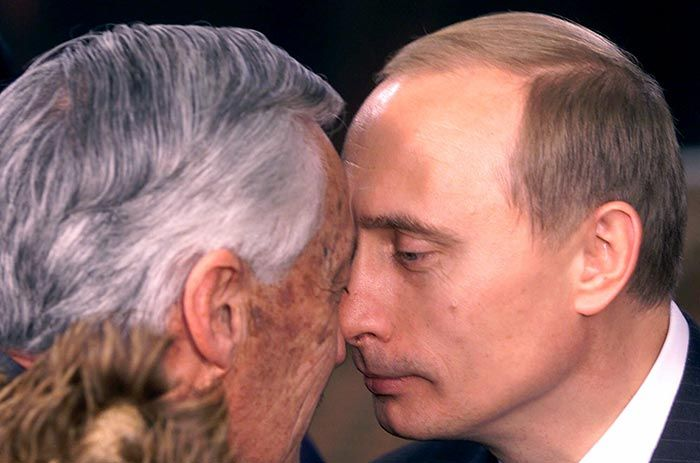 Журнал Time назвал Путина Человеком года (13 фото)