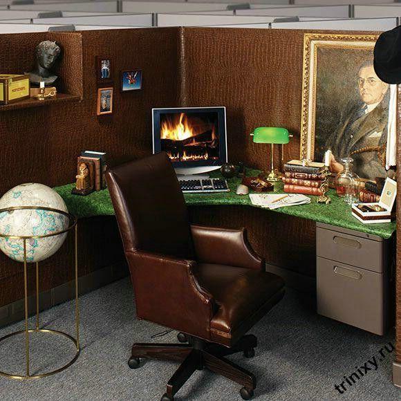 Личный офисный уголок (7 фото)